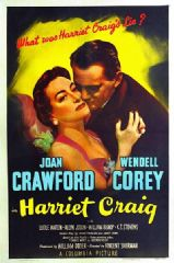Harriet Craig 1950 DVD - Joan Crawford / Wendell Corey